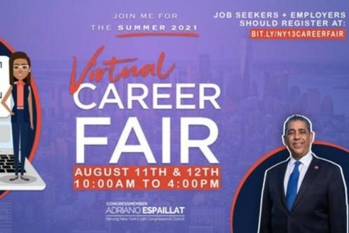Flyer for career fair.