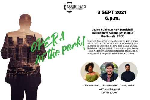 Opera in the Park flyer